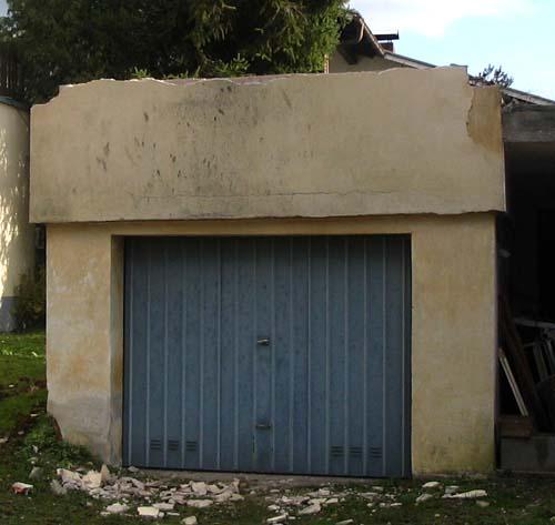 garage abreissen